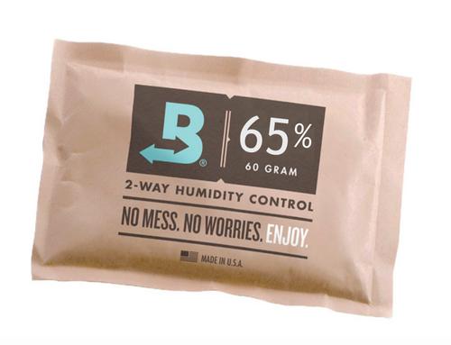 Boveda 65% RH Humidity 12-Pack, Large 60 gram (BV-HDF-65-12PK-60G)