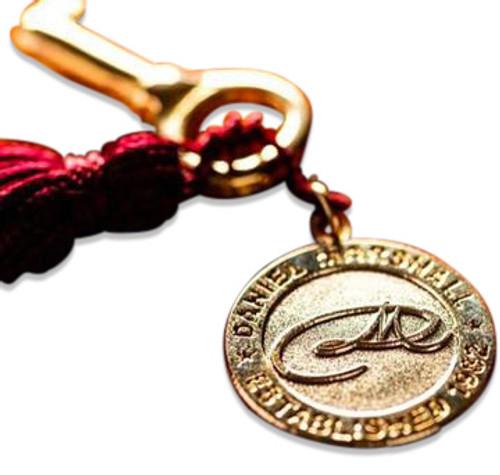 Daniel Marshall Key with Logo Medallion (DM-KEY-KEYMED)