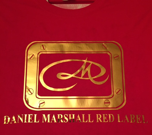 Daniel Marshall Red Label T Shirt
