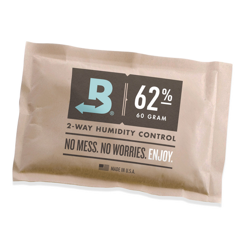 Boveda 62% RH Humidity 12-Pack, Large 67 gram (BV-HDF-62-12PK-67G)