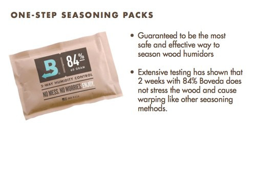 Boveda 84% RH Humidity 12-Pack (BV-HDF-84-12PK-60G)