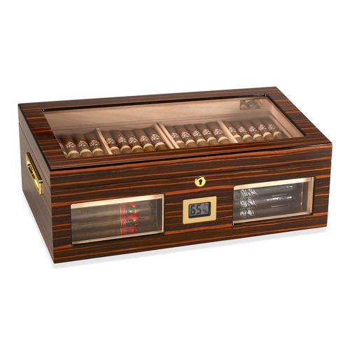 Gurkha Status 150-Cigar Desktop Humidor - Lugano-Serie