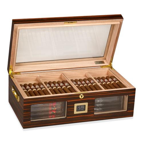 Gurkha Status 150-Cigar Desktop Humidor - Lugano Series