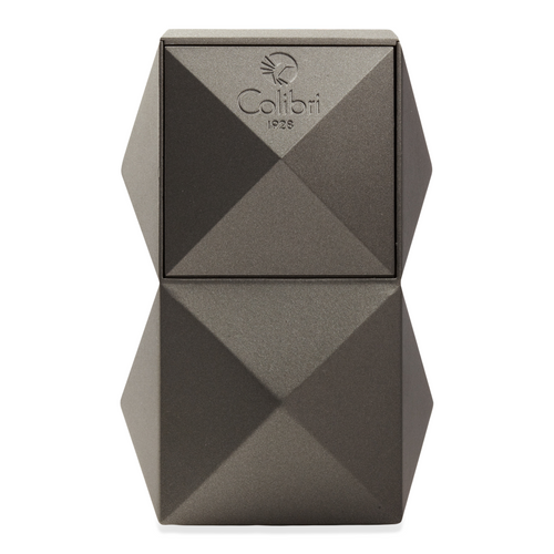 Colibri Quasar Table Top Cigar Lighter Exterior Gunmetal without Flame