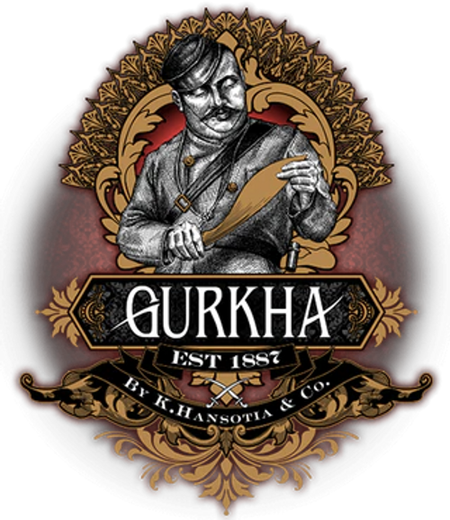 Gurkha Lugano Guillotine Double-Blade Cigar Cutter