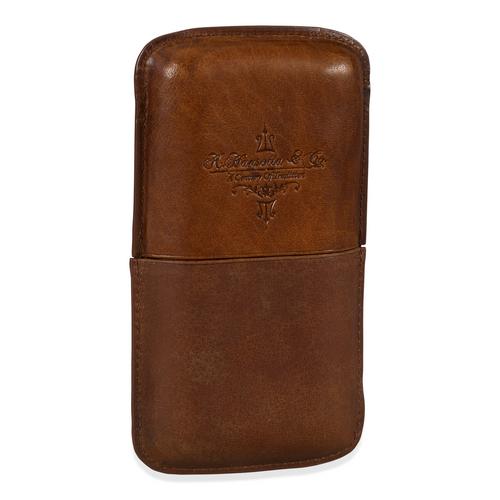 Gurkha Leder 3-Finger-Zigarrenetui