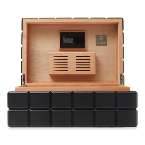 Colibri Heritage 105-125 Cigar Desktop Humidor - Black
