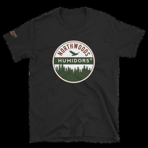 Northwoods Humidors Logo Short Sleeve T-Shirt