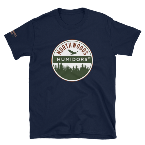 Northwoods Humidors Logo Short Sleeve T-Shirt