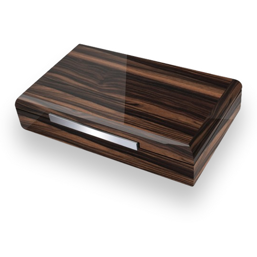 Prestige Vanderbilt 120-Cigar Desktop Humidor (PG-HUM-VBLT-120-EB) Exterior 1