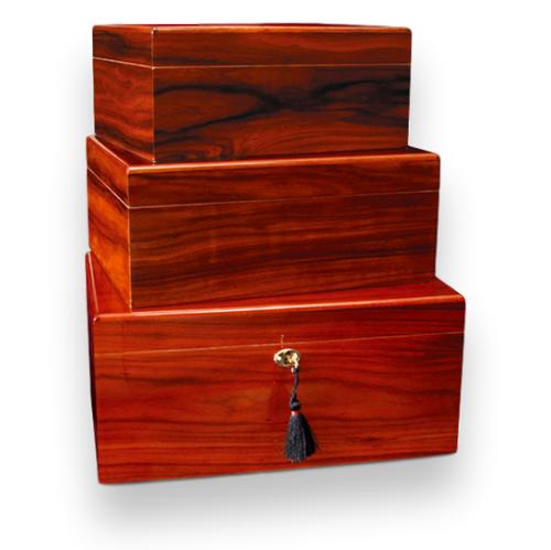 Savoy Rosewood 25-100 Cigar Humidor - Classic Series
