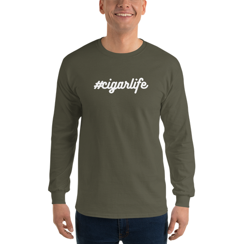 Northwoods Humidors #CigarLife Long Sleeve T-Shirt