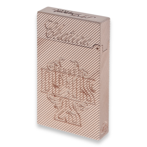 S.T. Dupont Fuente Fuente OpusX 25th Anniversary Logo - Ligne 2 Cigar Lighter - Pink Gold - Exterior