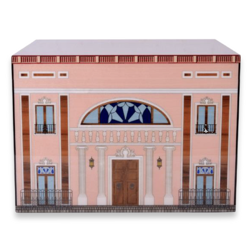 Elie Bleu Pink Palace 110 Cigar Humidor 2019 - Casa Cubana Collection - Exterior - Front