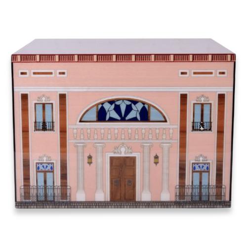 Elie Bleu Pink Palace 110 Cigar Humidor 2019 - Casa Cubana Collection - Exterior - Front
