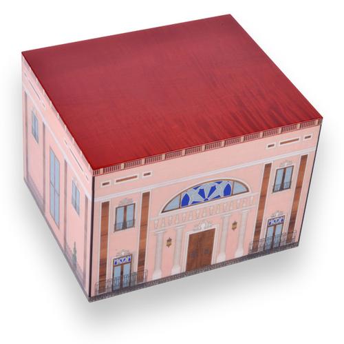 Elie Bleu Pink Palace 110 Cigar Humidor 2019 - Casa Cubana Collection - Exterior - Top