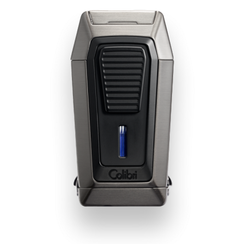 Colibri Quantum Triple-Jet Lighter With V-Cut Exterior