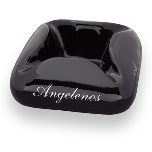 Prometheus Cloud Angelenos Black Cigar Ashtray Exterior
