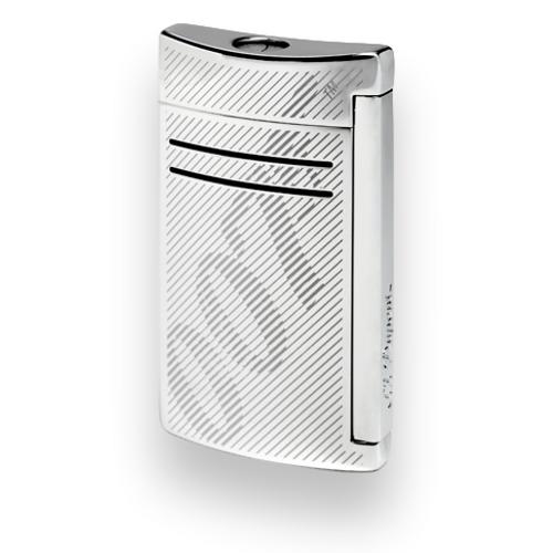 S.T. Dupont Maxijet Torch Flame Single Jet Cigar Lighter - James Bond 007 Limited Edition - Chrome (ST-LIT-MAXI-BOND-CH) Exterior 1