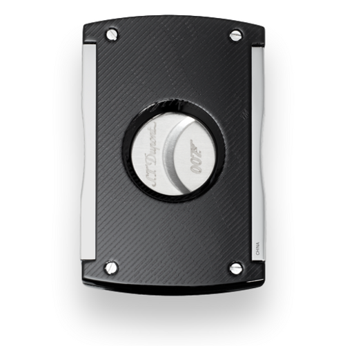 S.T. Dupont Maxijet Guillotine Double-Blade Cigar Cutter - James Bond 007 Limited Edition - Black (ST-CUT-MAXI-BOND-BK) Exterior 1