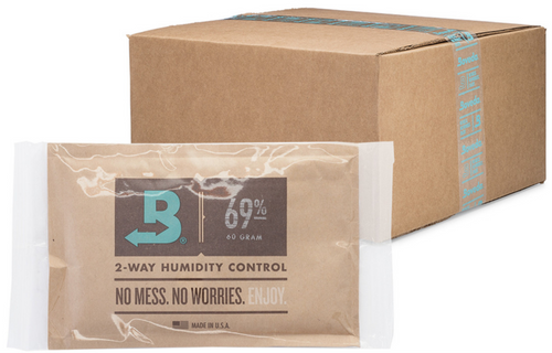 Boveda 69% RH Humidity 100-Pack Case, Large 60 gram