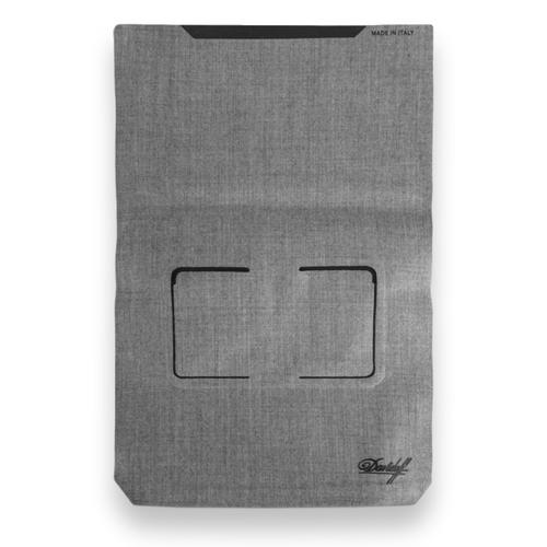 Davidoff-8-Cigar-Travel-Humidor-Business--Wool--Exterior-Backside