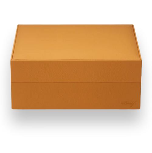 Davidoff Saffron Primos 35-Cigar Desktop Humidors - Exterior Front