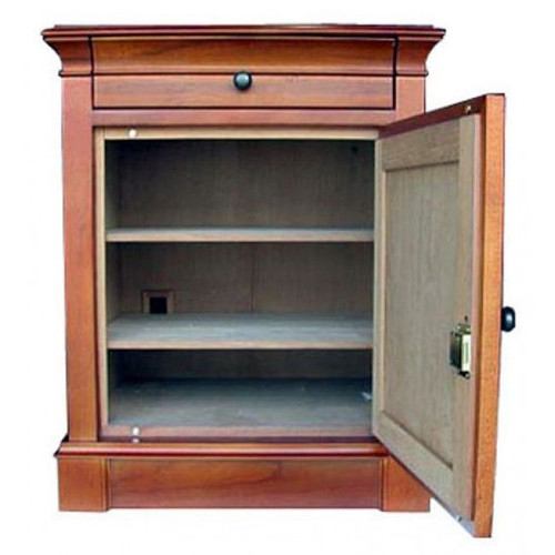 Lauderdale End Table Humidor - 500 Cigars - Interior