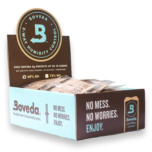 Boveda 69% Humidity Packs - 100-Count Carton, Small 8g  - Interior - Front - 1