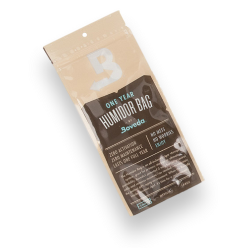 Boveda Small 5-Cigar Humidor Bag - 1-Pack - Exterior Front