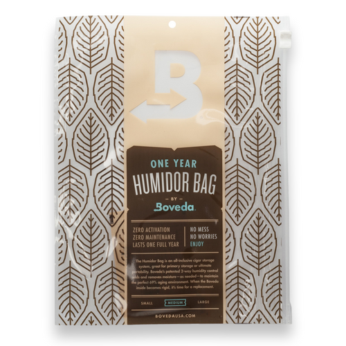 Boveda Medium 15-Cigar Humidor Bag - 1-Pack - Exterior Front