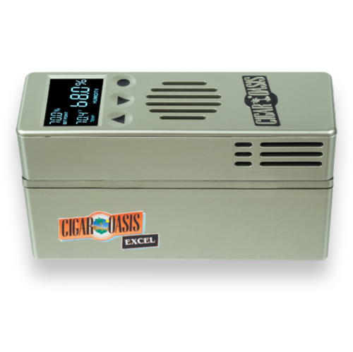 Cigar Oasis Excel 3.0 Electronic Humidifier  - Exterior Front