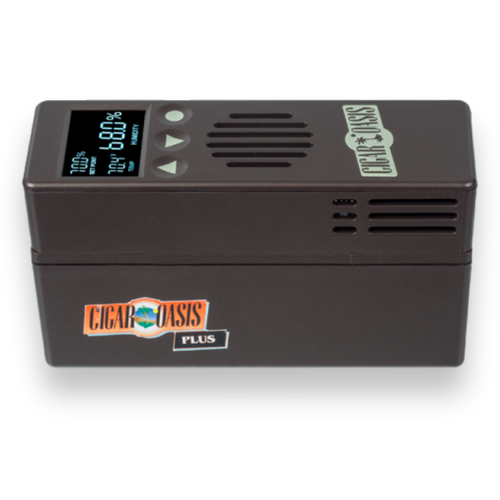 Cigar Oasis Plus 3.0 Electronic Humidifier  - Exterior Side Left