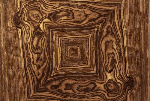Elie Bleu Bocote 110-Cigar Desktop Humidor - Classic Collection - Wood Grain