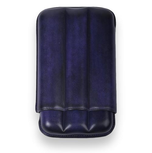 Elie - Bleu - Prune - Patina - 3 - Cigar - Up - to - 64 - Ring - Gauge - Exterior