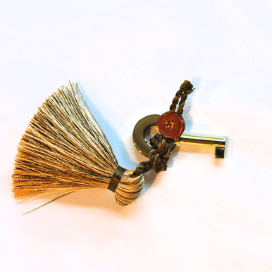 Elie Bleu Humidor Key With Tassel Gold
