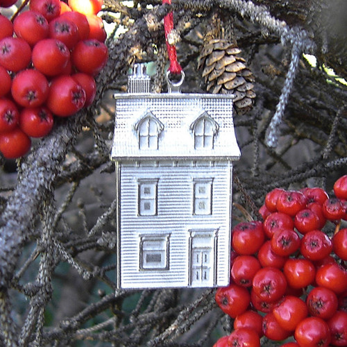 Jelly Bean House Ornament