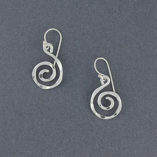 Sterling Silver Mini Sprial Earrings