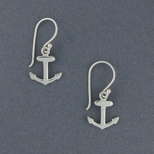 Exclusive Rhode Island Anchor  Earrings