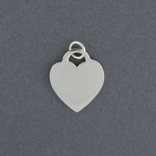 Sterling Silver Tiffany Inspired Heart Pendant