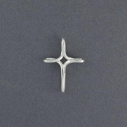 Sterling Silver Endless Cross Pendant