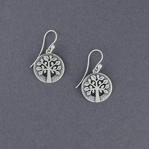 Detailed Tree of Life Earrings