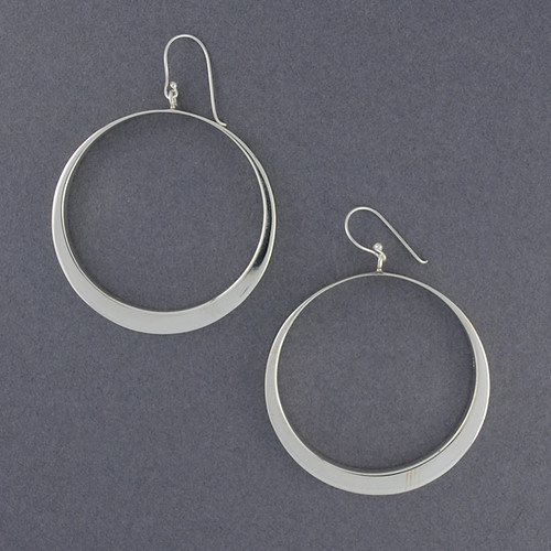 Sterling Silver Circle Dangles
