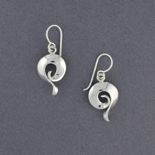 Sterling Silver Petite Spiral Dangles
