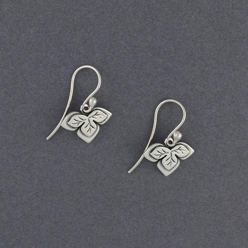 Three Leaf Earrings