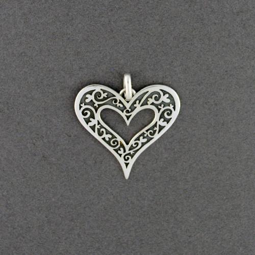 Victorian Heart Pendant