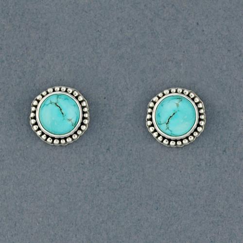 Jupiter Turquoise Earrings