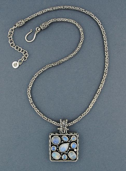 Crete Moon Necklace