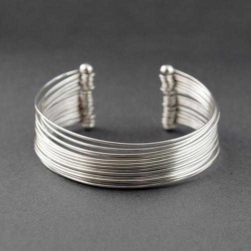 Sterling Silver Multi-Strand Cuff