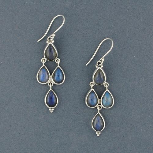 Cordelia Labradorite Earrings